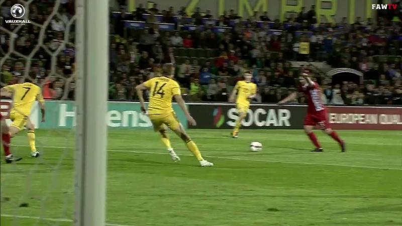 Супер сэйв Уэйна Хеннесси   Молдова 0:2 Уэльс