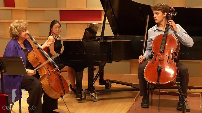 Marcy Rosen Master Class: Dvorak Concerto, Mvt. 1