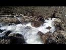 Водопад Кук Караук. Вид сзади. )