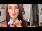 Порно звезда Lana Rhoades показала свою попку которая получает по полной в порно съемках!