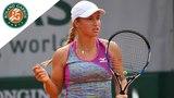 Yulia Putintseva vs Barbora Strycova - Round 4 Highlights I Roland-Garros 2018