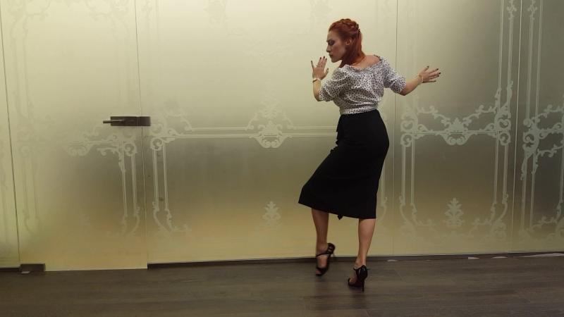 Karina Lilu Dovbush - Tecnica para Mujer, Carlos Di Sarli - musicalidad