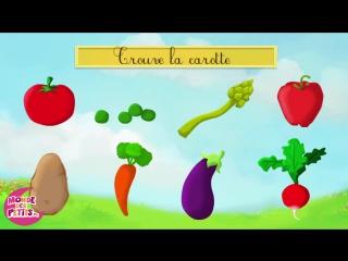 3. Apprendre les légumes en samusant (francais)