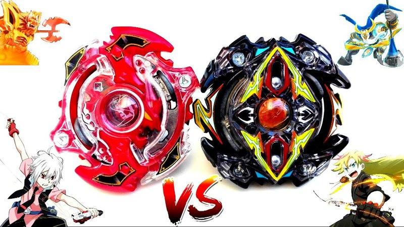 Storm Spryzen .K.U vs Zillion Zeutron .I.W - Shu vs Zac - Beyblade Burst Battle -S2 vs Z2베이블레이드 버스트