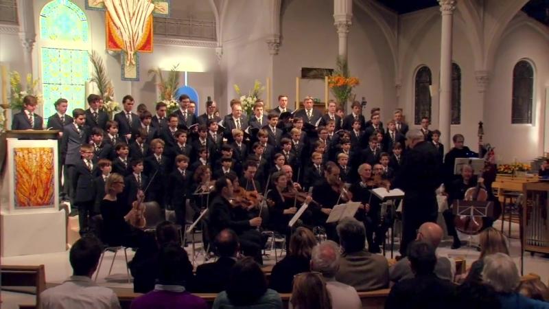 140 J. S. Bach - Wachet auf, ruft uns die Stimme, BWV 140 - Petits Chanteurs Sainte-Croix, Neuilly - Collège de Musique Sacrée