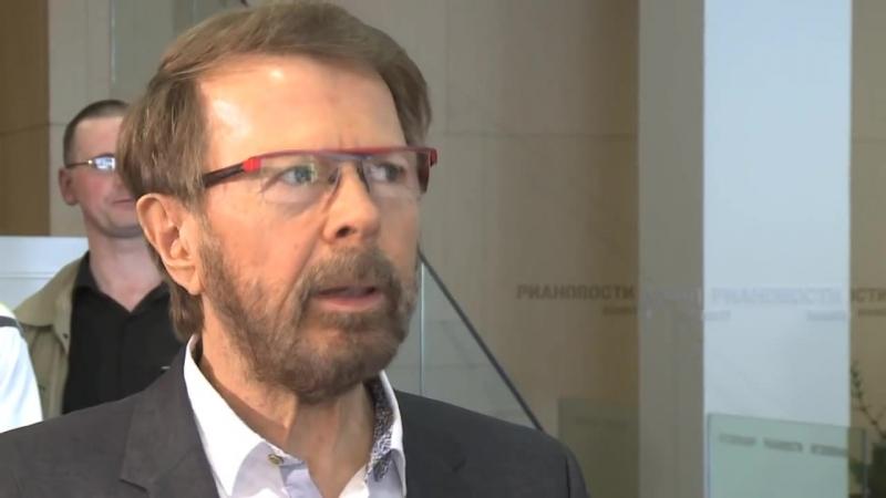 Björn Ulvaeus in Moscow, 18 апреля 2013