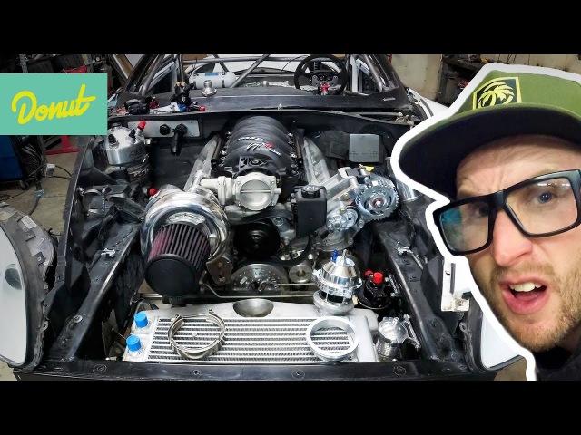 All the small things that go into building a racecar | Drift Corvette Build wMatt Field