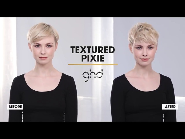 Egle for GHD Textured Pixie Hairstyle How To