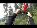 Roller Coaster Zipline in Bukovel
