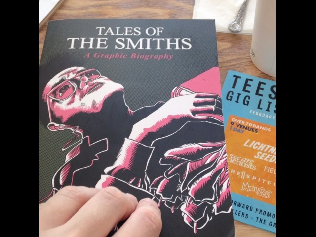 """Con Chrisoulis on Instagram: """"Finally received my 450-page behemoth early copy of TALES OF THE SMITHS - which is now available for pre-order: amazo..."""