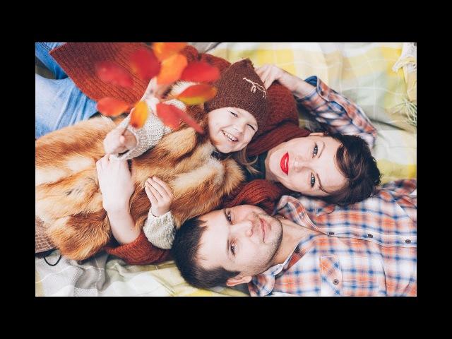 Семейная фотосессия семьи Походенко: Александра, Елены и Изабеллы, г. Запорожье