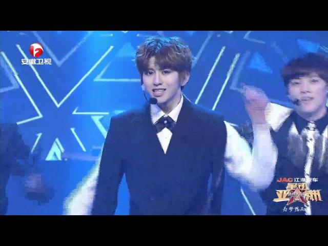 星动亚洲슈퍼아이돌super idol 蔡徐坤차이쉬쿤-Rising Sun