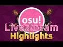 Osu! Livestream Highlights | Rafis goes God mode! idke 770pp Reaction! Sodapoppin Reacts to idke!