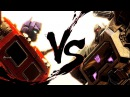 Transformers Optimus Prime VS. Megatron (G1 Remake in Fall of Cybertron)