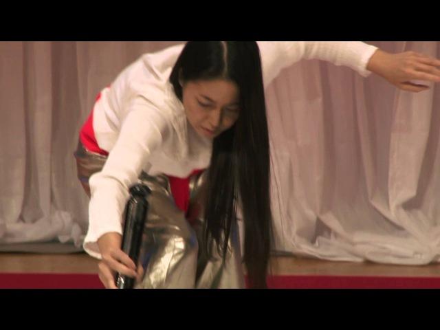 A dance of brush and ink | Tomoko Kawao | TEDxKyoto 2013