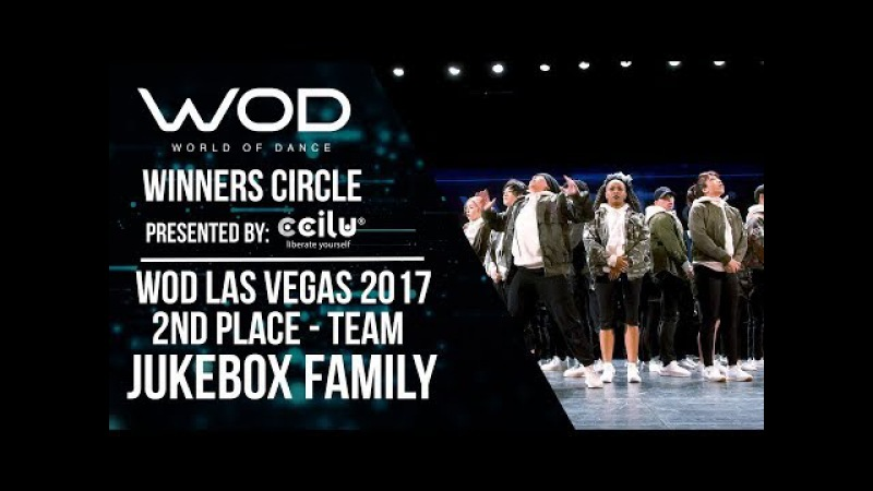 Jukebox Family | 2nd Place Team | Winners Circle | World of Dance Las Vegas 2017 | WODLV17
