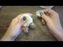 Рецепт солёного теста для лепки сложных цветов с тонкими лепестками.