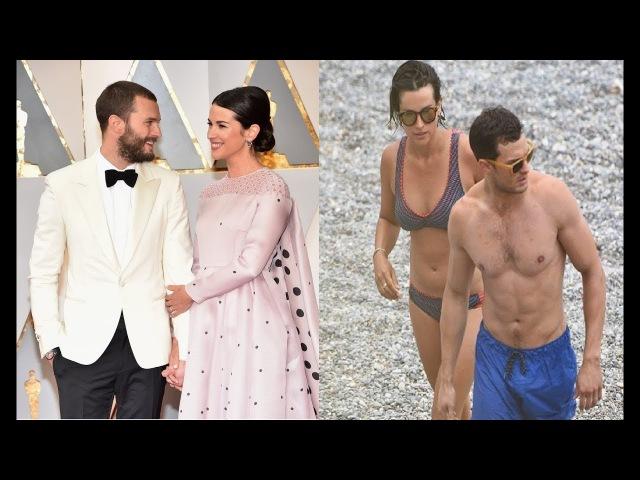 Jamie Dornans Wife -2017 [ Amelia Warner ]