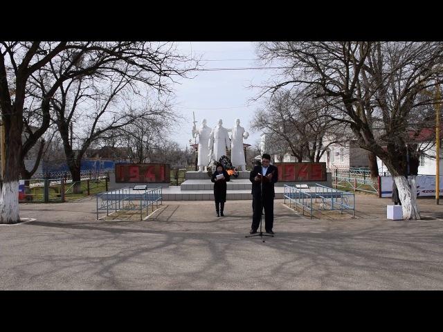 Поздравительное слово главы Комсомольского СМО РК (ахлачи) Борисова Бадмы Михайловича