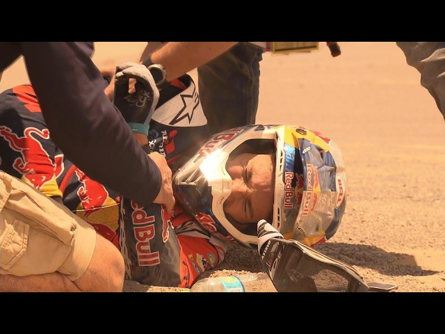 Rally dakar 2018 | Highlights CRASH [Wock - Sama Amie soundtrack]
