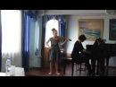 Полина, 9 лет, 17.02.2018 г. Ш. Данкля Вариации на тему Дж. Россини E-dur
