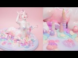 Unicorn Babe Making Process Polymer Clay Sculpture