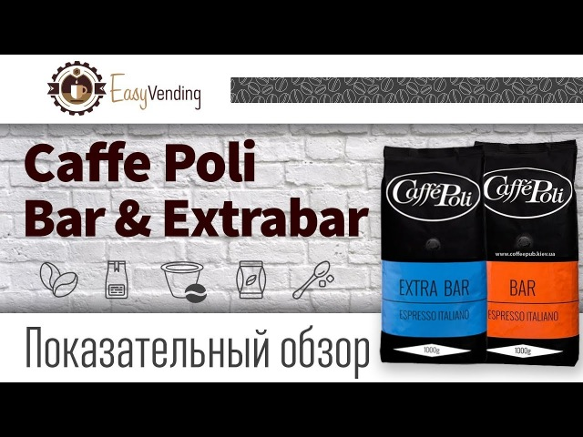 Обзор Caffe Poli кофе в зёрнах