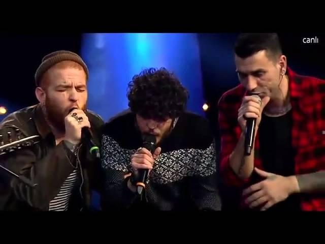 Gökhan ve Hakanın Takımından Muhteşem Performans - O Ses Türkiye Çeyrek Final 31 Ocak 2016 [HD]