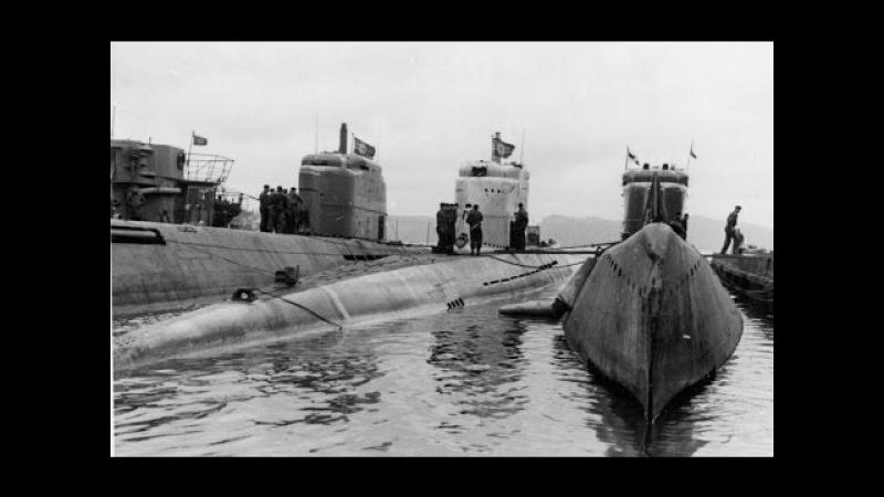 Гитлеровские подлодки и моряки. Оружие на Великой Отечественной Войне.