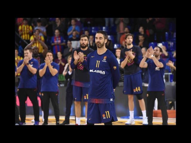FC Barcelona Lassa and Juan Carlos Navarro celebrate 20 years together!