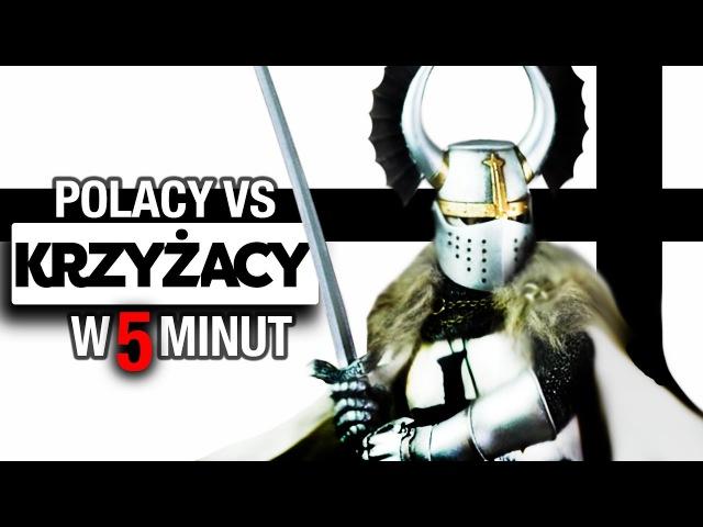 Krzyżacy. Dowiedz się, dlaczego musieliśmy ich zniszczyć. Historia Polski.