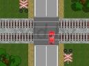 Вынужденная остановка на железнодорожном переезде