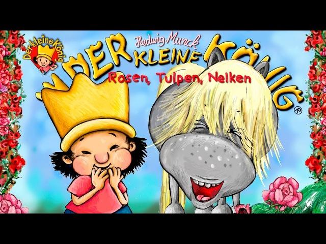 Rosen, Tulpen, Nelken - Valentine - Der kleine König aus dem Sandmännchen