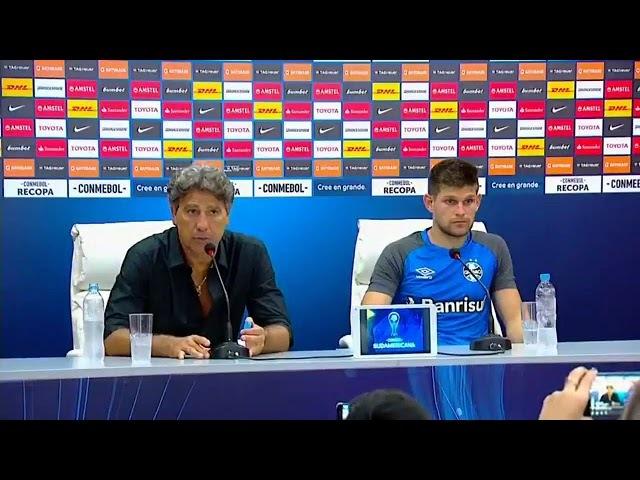 Independiente 1 x 1 Grêmio - Coletiva Rento Gaucho e Kannemann