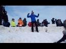 Взятие снежной крепости на Масленицу в «Лудорвае»