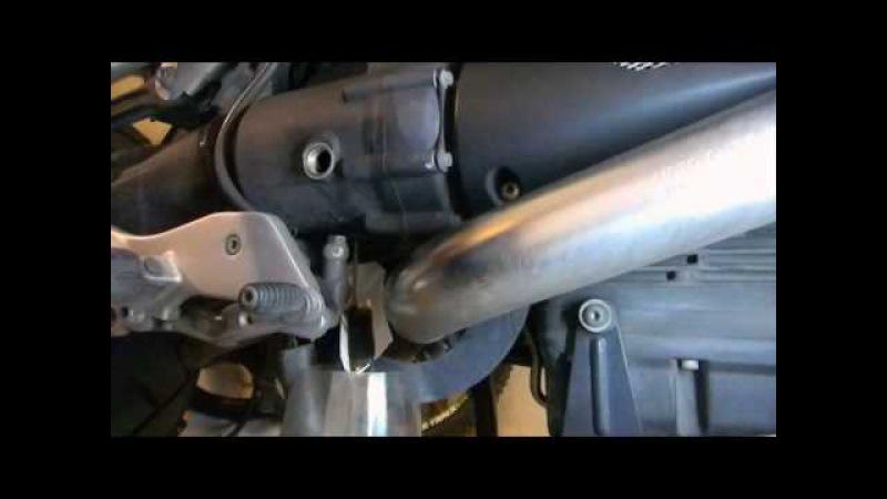 Guzzi Stelvio gearbox oil change