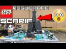 EPIC LEGO STAR WARS BATTLE OF SCARIF MOC Rogue One Scarif MOC By KrisProductions CITADEL TOWER