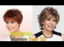 50 Simple Short Hairstyles for Women Over 50