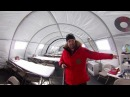 Как ходят в туалет в Антарктиде - экскурсия 360 градусов по антарктическому лагерю Mamontcup2018