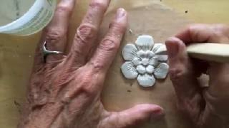 Artful Paper Clay Tutorial 1 How to Sculpt a Simple Flower