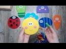 Развивающая игра из фетра Забавные прищепки . Игра от которой ваши дети будут в восторге