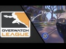 Effect Tracer with the Pulse Bomb double kill [Overwatch League]