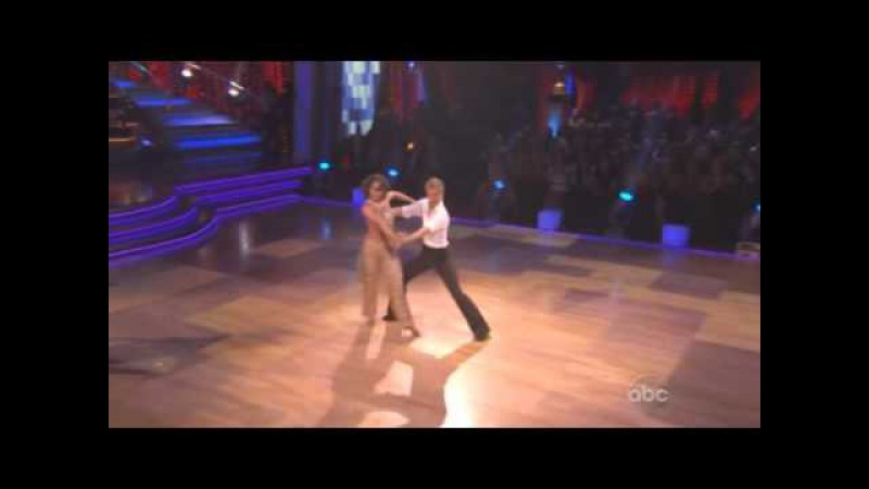 Dancing with the stars final dance of season - Instant Cha Cha Kyle, Jennifer, and Bristol