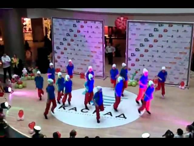 Выступление с танцем