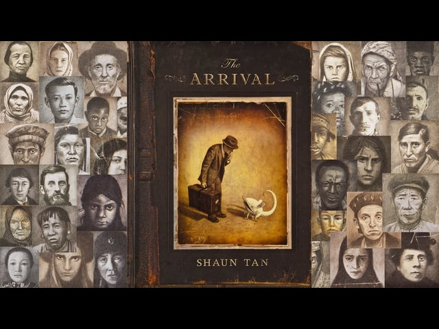 Shaun Tan - The Arrival Animation