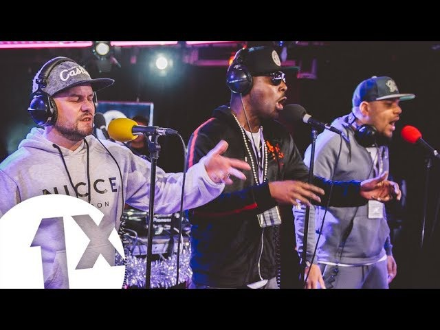 Mollie Collins, Skibadee, Eksman, and Harry Shotta @ 1Xtra's Xmas Party