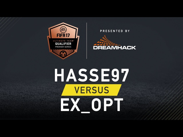 Fifa 17 - Hasse97 vs EX_OPT - EA SPORTS FIFA 17 Ultimate Team Championship Series