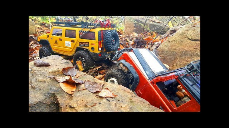 RC Trucks OFF Road – Man Kat1 The Beast 6x6, Hummer H2 Defender – Axial SCX10 — RC Extreme Pictures