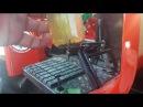 Японский мини трактор Замена топливного фильтра
