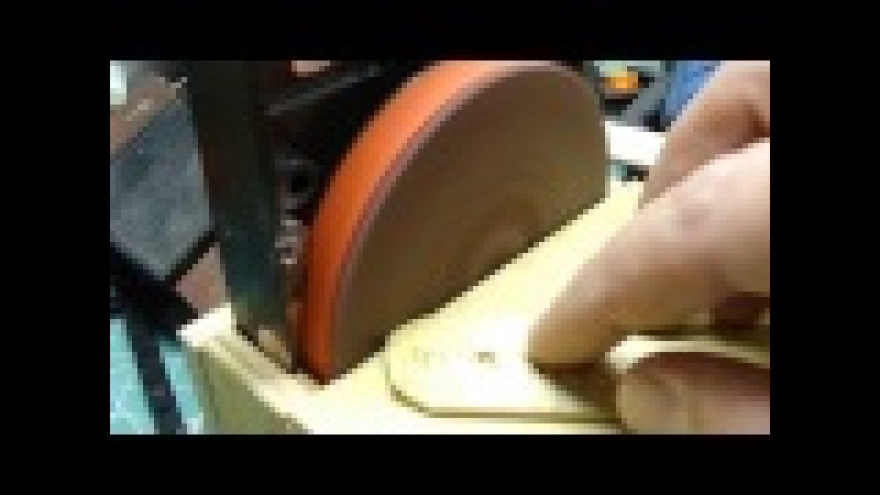 шлифовальный станок из жесткого диска